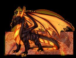 Pariah The Volcanic overlord by Desrosaur