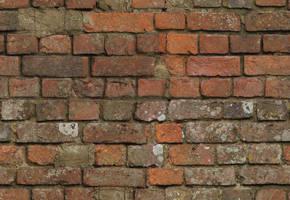 Old bricks, hi-res, seamless by ntyb