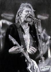 Kurt Cobain by RostaNMenezes