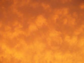 orange skies by kaidi10