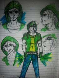 Green Punk by SingingPilgrim