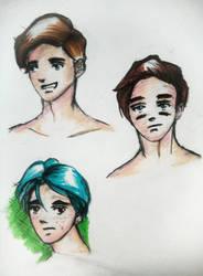 Male Anime Profile  by SingingPilgrim