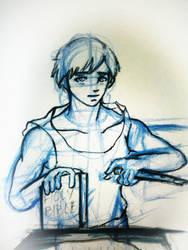 Fight The Good Fight- Sketch by SingingPilgrim