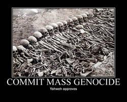 God approves mass genocide by fiskefyren
