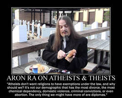 Aron Ra on Atheists and Theists by fiskefyren