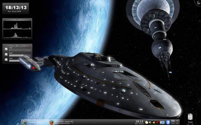 KDE 4.1 Screenshot by dubkat