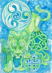 Celtic Tiger by Aikya
