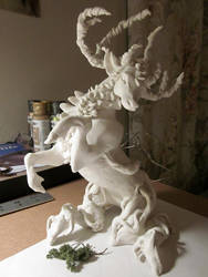 Forest Spirit WIP by Aikya