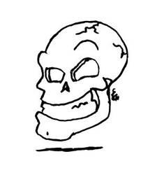 Floatin' Skull by Glarryg