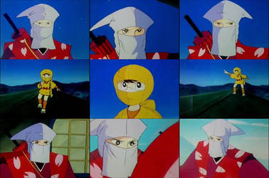 Ninja Wonder Boy (Sasuke Sarutobi) by NightmareMissy