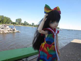 By the Sea by Kisshu-Neko