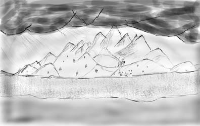 The mountain tatry by omagi