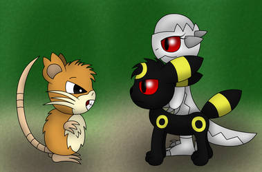 Probably not a trustworthy Raticate by Hebi95