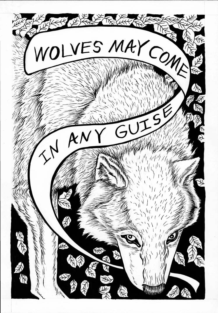Wolves May Come In Any Guise-Pg1 by TheGraphicAcademic