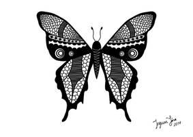 Butterfly fly away by ingunn88