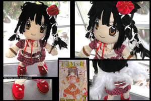 Mitsuki vol. 7 cover plushie by ichigo-pan43