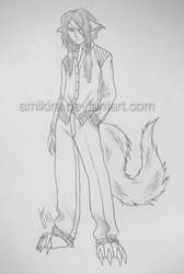 Ashe Sketch by Amikira