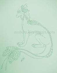 Aihwa Sketch by Amikira