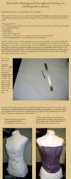 Woven Corset Bodice Tutorial by nolwen