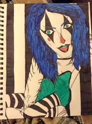 Clowny Girl by JessieVonGhoul
