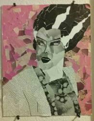 Bride Of Frankenstein by JessieVonGhoul