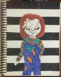 Chucky by JessieVonGhoul
