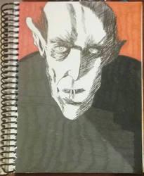 Nosferatu by JessieVonGhoul