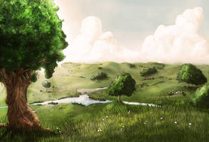 The Shire by Leafless-Tree