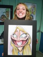 Lauren and sketch by Zitman