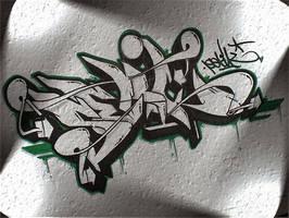 Graffiti skie by Gravemind3