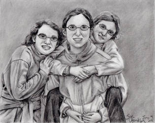 Commission: Three Sisters by AinuLaire