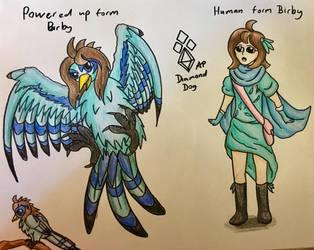 Fan art for birby feathers  by DiamondDog27