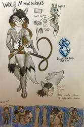 Miraculous wolf (concept) by DiamondDog27