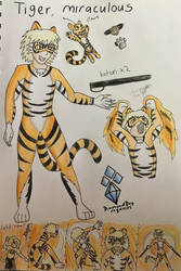 Tiger miraculous (request) by DiamondDog27