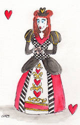 The Queen of Hearts by Gregatron
