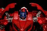 optimus prime repaint by gidge1201