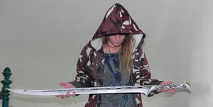 Thranduil's sword - paper replica by MorellAgrysis
