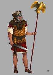 legionario romanoB by Marcilustra