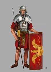 legionario romanoA by Marcilustra