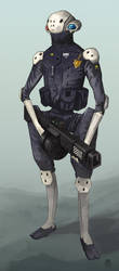 Robot4 by Marcilustra