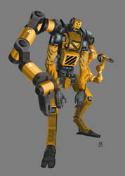 Robot5 by Marcilustra
