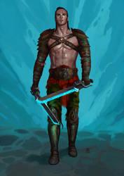 Gladiador by Marcilustra