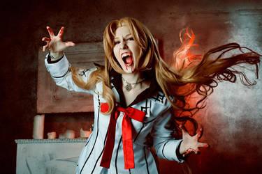 Vampire Knight Luka (Ruka) Souen - Vampire` anger! by TheWisperia