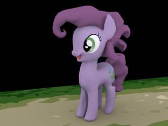 3D Pony by Tastes-Like-Fry