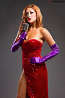 Socal val as jessica rabbit by CaptPatriot2020