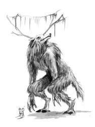 Ciervo by geygeisha