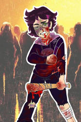 Zombie outbreak by Pandalover4ever