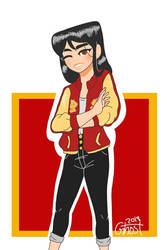 casual mulan by Pandalover4ever