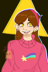 mabel pines (bill vers.) by Pandalover4ever