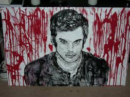 Dexter by charliemacpaintings